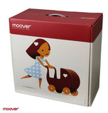 Moover toys luxe houten poppenwagen wit_